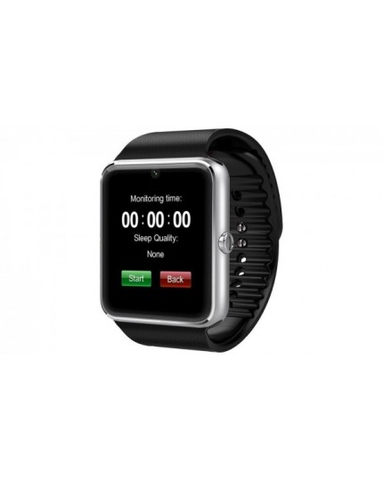 Smartwatch with Stainless Steel Case