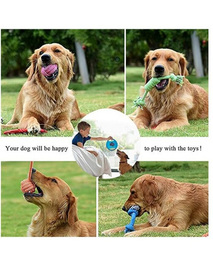 Pet Cotton Rope Toys Set