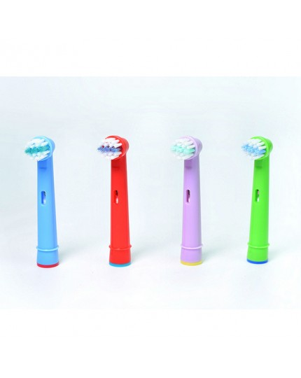 4pcs Kids Toothbrush Replacement Heads