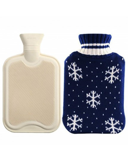 Christmas Winter Knitted Water Bottle