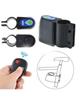 Wireless bicycle alarm with remote