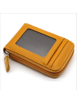 Mini Leather Credit Cards Holder