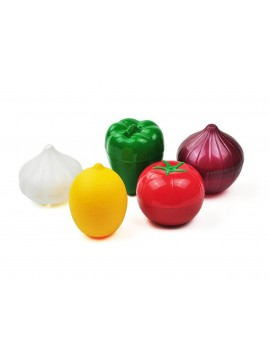 Vegetable Shaped Food Storage Container