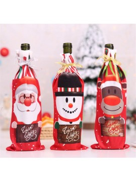 Christmas Decor Wine Bottle Bag