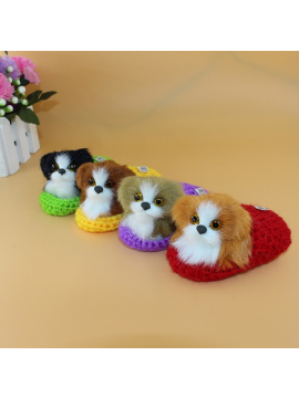 New Arrival Cute Plush Dog Soft Animal Toys Doll Lifelike Simulation Kids Girls Xmas Gift