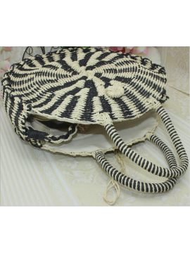 Straw woven new cartoon bag