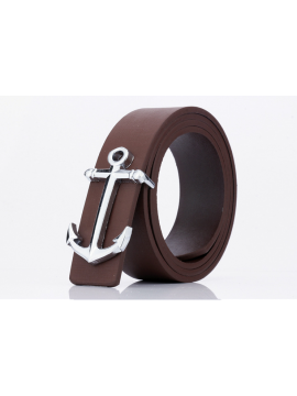 Anchor Shaped Buckle Belt
