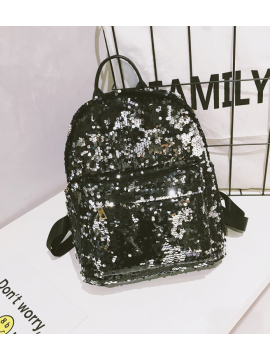 Street chic sequin backpack