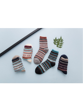 Ethnic style socks for men