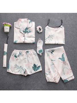 Seven pieces female pajama