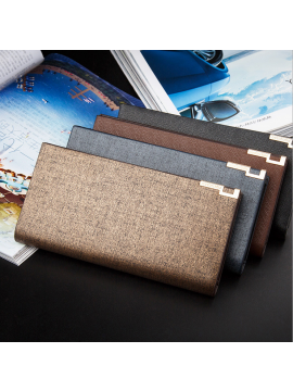 Men's Business Long Wallets