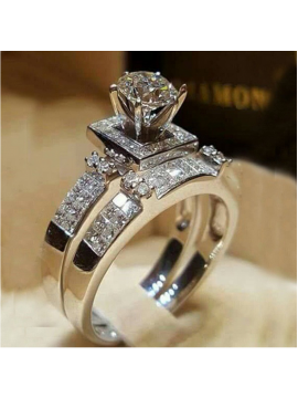 Exquisite Bridal Marriage Engagement Ring