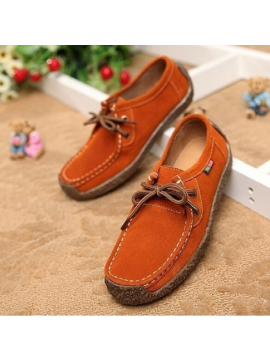 Women Genuine Leather Shoes