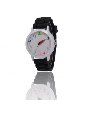 GIRLS BOYS JELLY SILICONE WATCHES