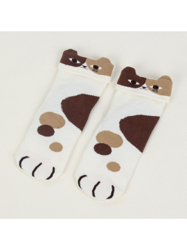 Cartoon Woman Socks