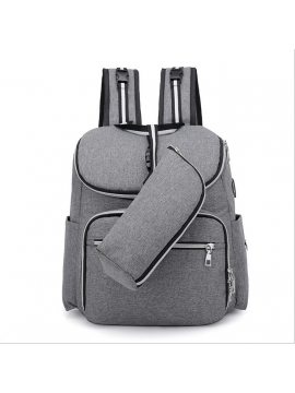 Multifunctional large capacity ladies backpack