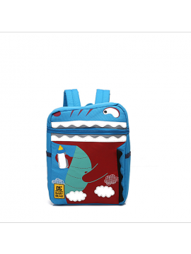 Large-capacity waterproof children's dinosaur bag