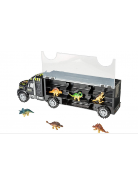 Dinosaur Truck Carry Case Transporter Toy Car