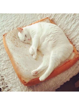 Creative Toast Bread Style Cushion