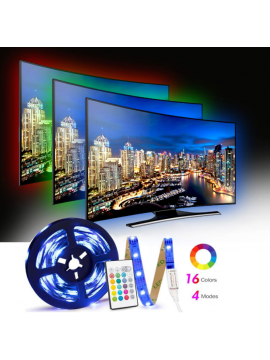 TV LED Backlights with 16 Colors and 4 Modes