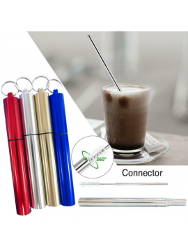 Stainless Steel portable Drinking Straw