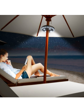 28-LED Parasol Umbrella Light
