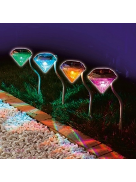 Diamonds Lawn Solar Light