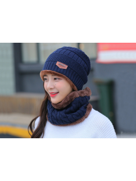 Neck Warmer Knitted Hat Scarf