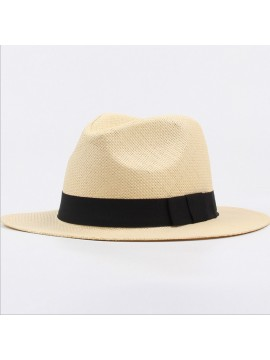 Men's and women's straw hats,