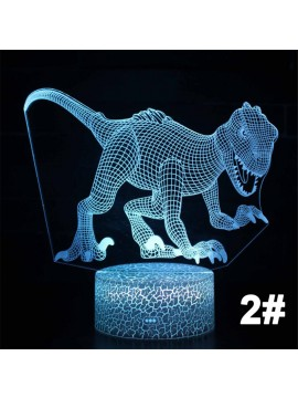 3D Dinosaur Night Light Lamp
