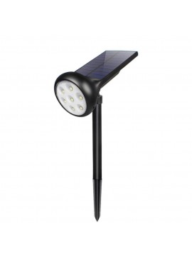Outdoor Solar Powered Lawn Spotlight