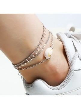 Beach Jewelry Shell Chain Anklet