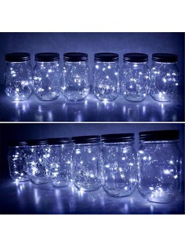 LED Solar Mason Jar Light