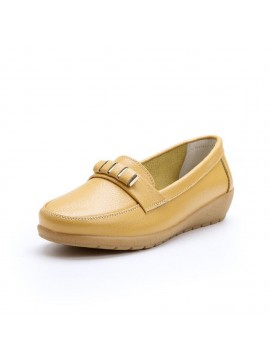Women's Comfy Leather Loafers